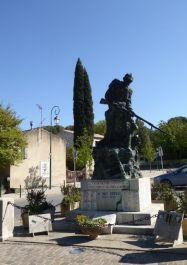 Totendenkmal La Roque-d'Anthéron