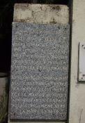 Gedenktafel für Th. Wolff, Promenade des Anglais Nr. 63