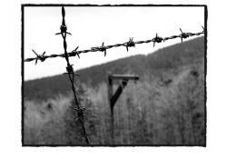 Galgen im Lager (© Martin Graf)