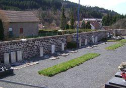 Friedhof, Gräber der britischen Fallschirmjäger