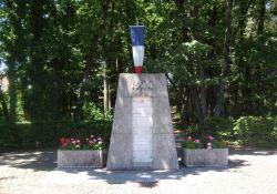Denkmal der erschossenen Résistants