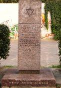 Gedenkstein für die Ghetto-Märtyrer