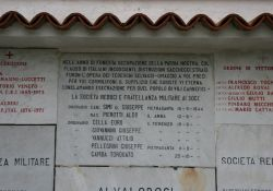 Tafeln an der Gedenkstätte