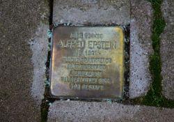 Stolperstein für A. Epstein in Kenzingen; © HP Goergens
