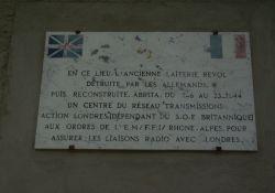Erinnerung an Funkstation der 'Französischen Republik'