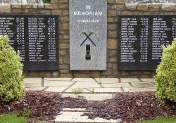 Denkmal für die Opfer der Grubenkatastrophe
