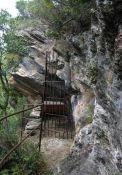 Blick in die Grotte, heutiger Zustand (© www.porri.eu)