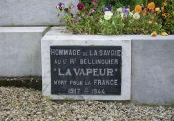 Tafel Raymond Belinguier 'La Vapeur'