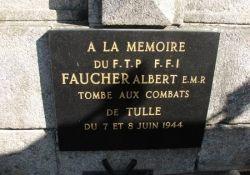 Tafel Albert Faucher (© Michel Cantillon, genweb)
