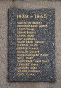 Kriegsopferdenkmal am Friedhof