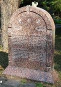 Gedenkstein für Wittenberg und Madeyska