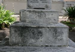 Die Namen der Opfer (Foto: Baldini)