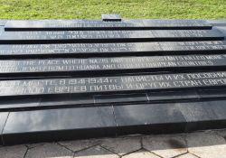 Gedenkstein am Erschießungsort