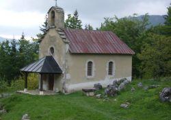 Kapelle im Ruinendorf