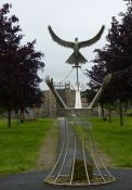 Friedens- und Gedenkstele