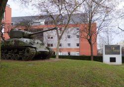 Befreiung Colmars - Panzer und Gedenktafeln