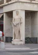 Denkmal 'Wächter aus Stein'