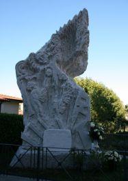Denkmal für die Opfer von Begiola (Foto: Baldini)