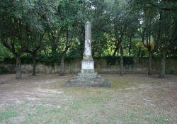Obelisk in Molina di Quosa (Foto: Baldini)