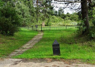 Markstein vor dem alten jüdische Friedhof