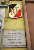 Tafel Jeunot und Marietto