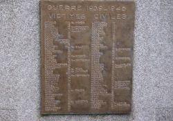 Tafel für zivile Opfer