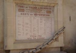 Tafel an der Synagoge