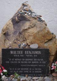 Grabstein Walter Benjamin