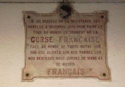 """Tafel  """"Berceau de la Résistance"""", 23 Bd. Paoli"""