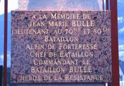 Gedenktafel Jean-Marie Bulle; © Martine Mangeolle, genweb