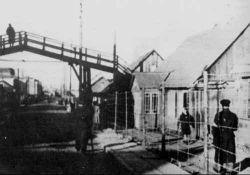 Brücke zwischen großem und kleinem Ghetto (VilNews)