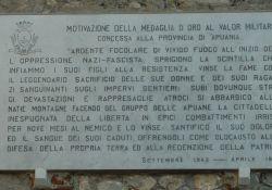 Medaglia d'oro al valor militare für die Resistenza der Provinz Apuania