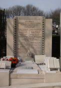 Denkmal auf dem Friedhof Père-Lachaise, Paris