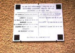 Tafel am Rathaus