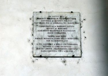 Gedenktafel an der Piazza Santa Maria Novella (Foto:Baldini)