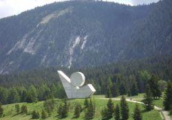Résistance-Denkmal auf dem Glières-Plateau