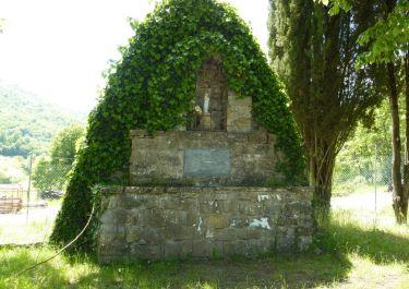 Denkmal an der ehemaligen Casa Cannicci