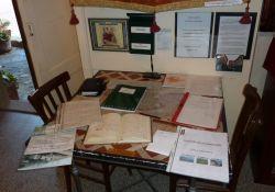 Informationen in der Sala della Memoria