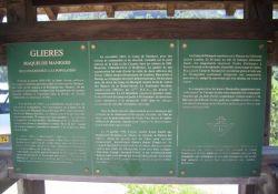Tafel Maquis-Dank an Bevölkerung