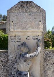Denkmal der Erschossenen in Le Beaucet