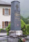 Denkmal für die vier erschossenen Einwohner