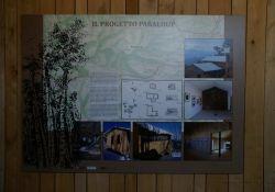 Innen im Museum, Plan des Projektes der Fondazione Nuto Revelli
