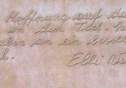Letzter Brief von Elli Voigt
