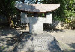 Sugihara-Denkmal vor dem Grünen Haus