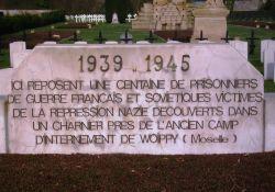 Gedenktafel, Friedhof Chambière