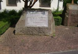 Gedenkstein 'Chemin de la Libération'