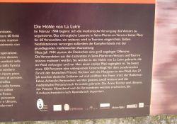 Info-Tafel Höhle (Ausschnitt)