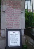 Totentafel 1939-1945 am Totendenkmal