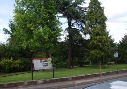 """Park """"Square de la Résistance et de la Déportation"""""""