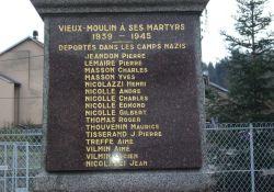 Gedenktafel für die umgekommenen Deportierten
